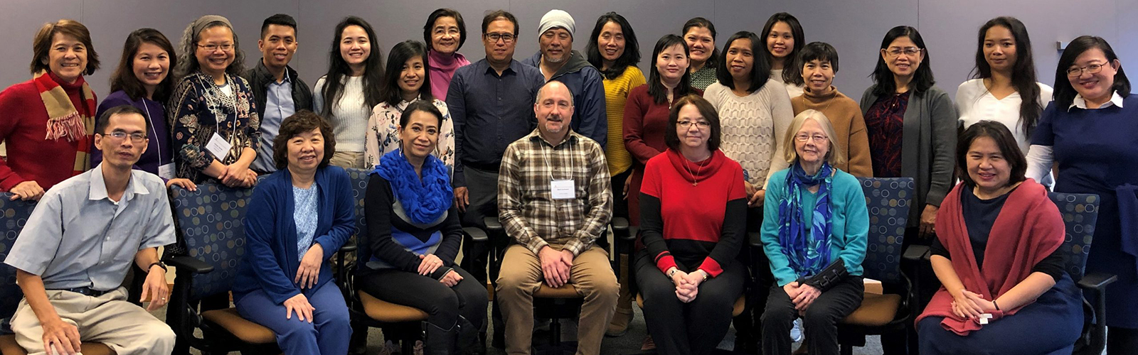 A group photo from 2019 December workshop